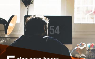 5 tips para hacer home office (sin dormirte en el intento)