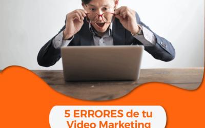 5️⃣ errores fatales que estás cometiendo en tu campaña de video marketing