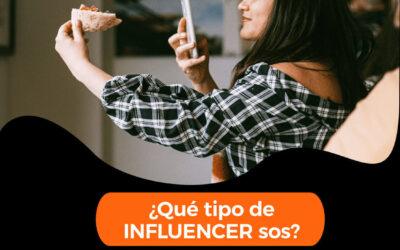 ¿Qué tipo de INFLUENCER sos?