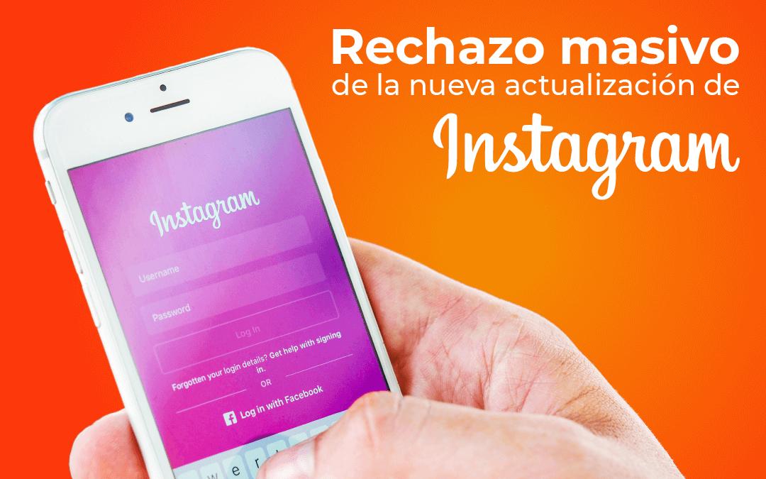 Emprendedores y creadores de contenido amenazan con irse de Instagram debido a esta actualización.